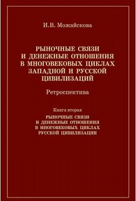 Рыночные связи и денежные отношения в многовековых циклах Кн. 2.